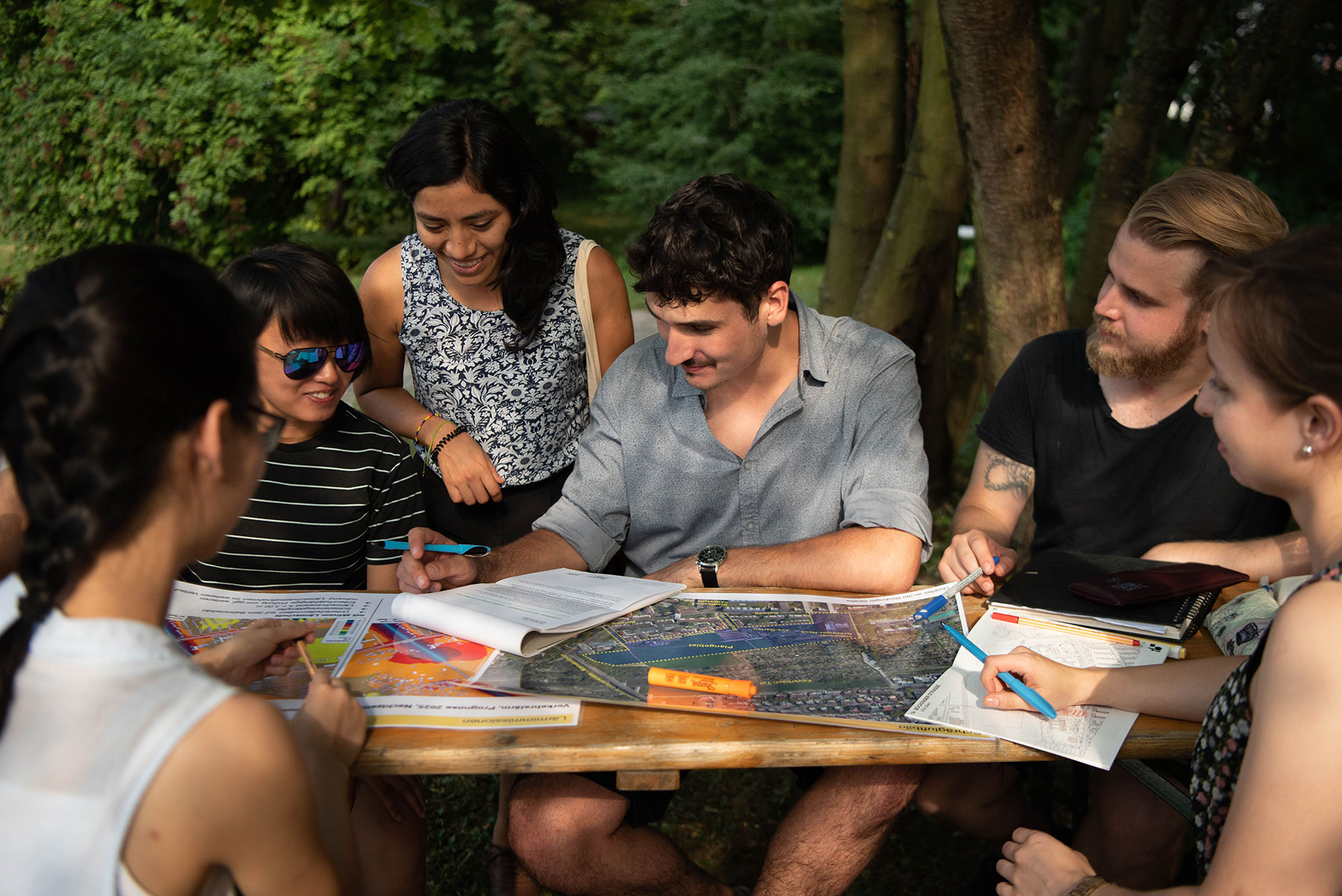 IBA'27-School 2019: Gruppenarbeit (Foto: Ishika Alim / IBA'27)