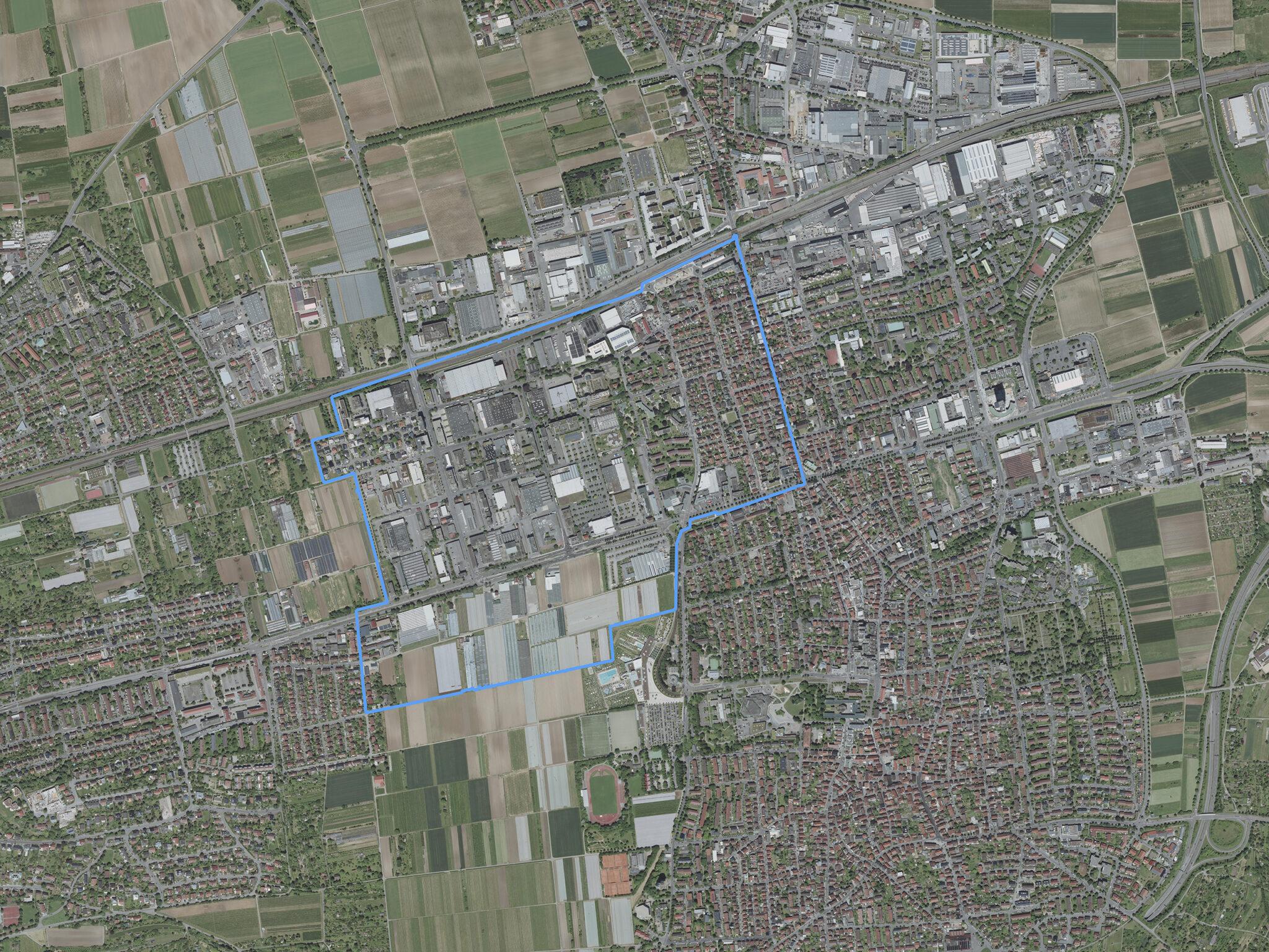 Luftbild Fellbach