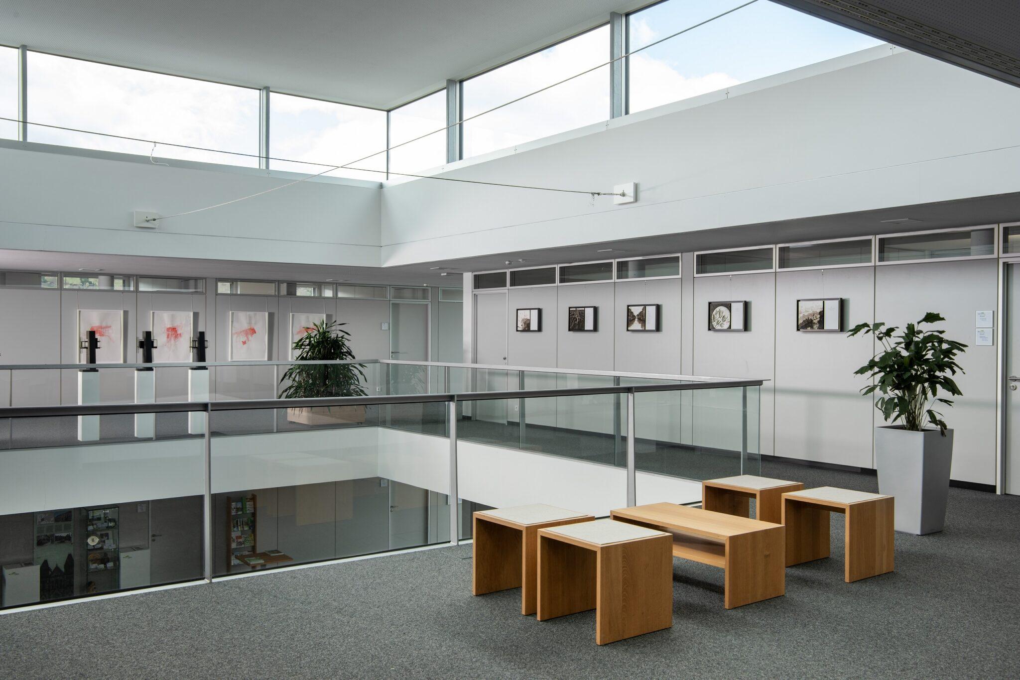 Atrium. Bild: Frank Kleinbach