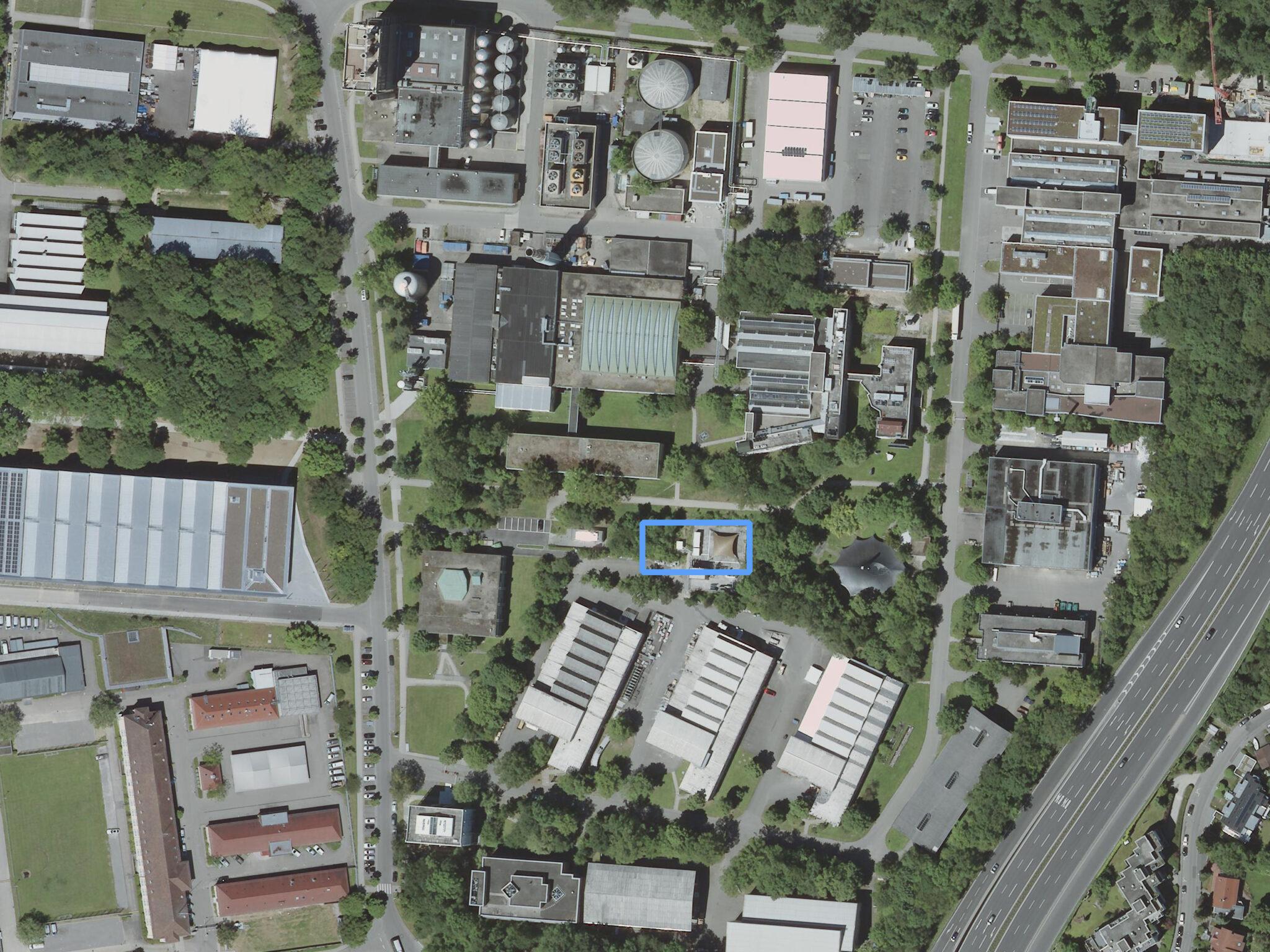 Luftbild Adaptives Hochhaus