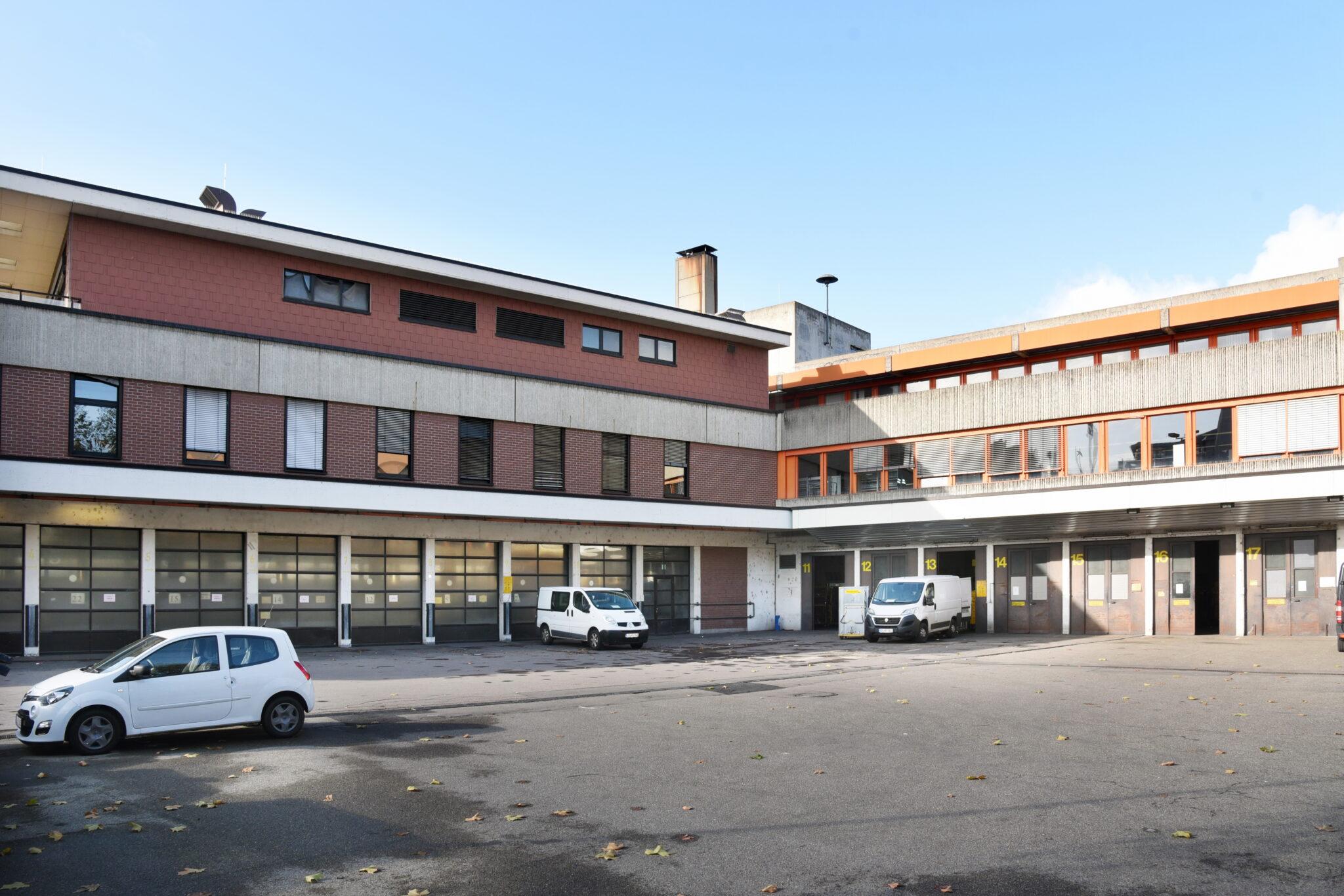 Postareal Böblingen: Bestand (Bild: BBG (Böblinger Baugesellschaft mbH)/Günter E. Bergmann - Photography)