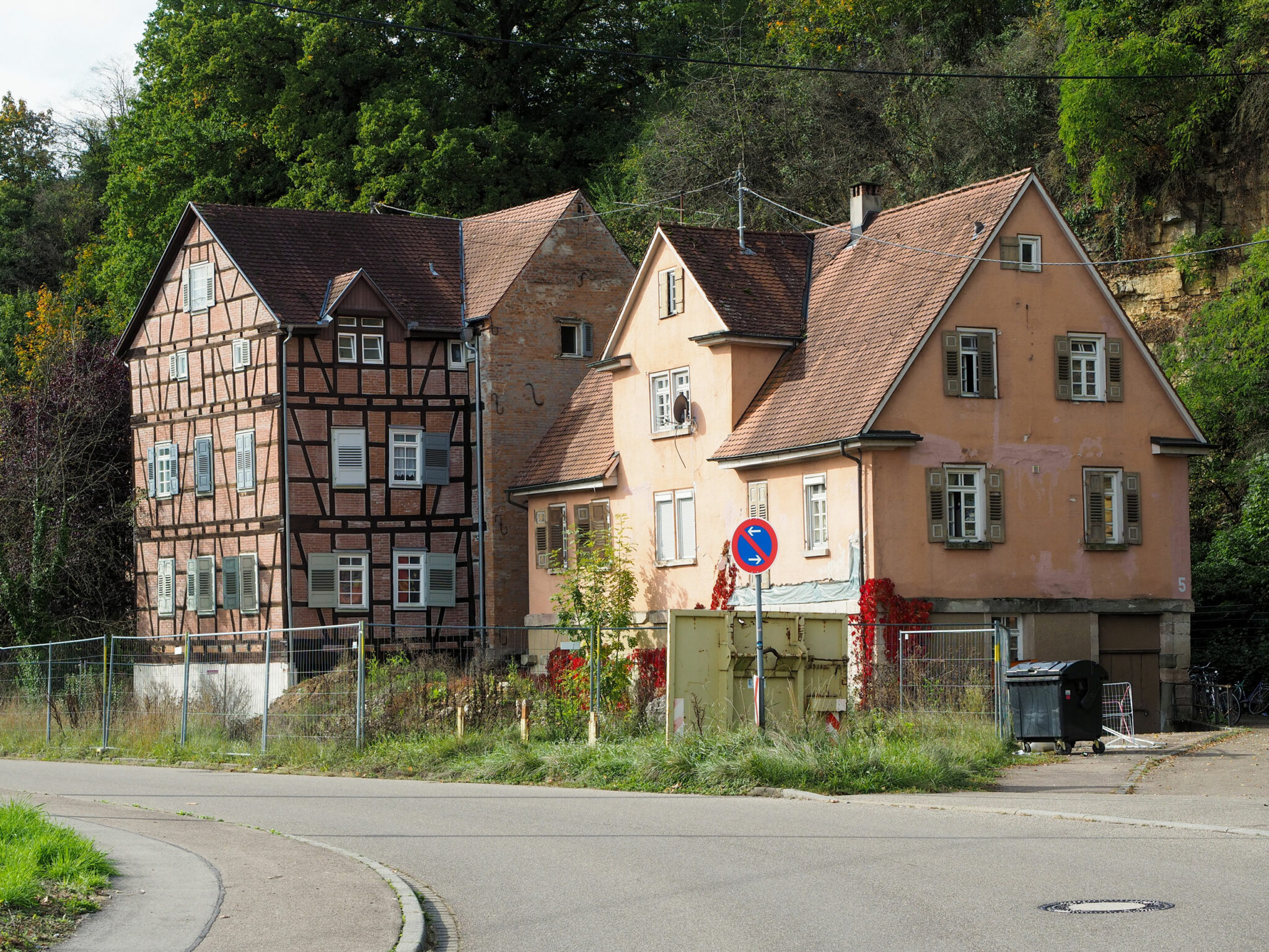 Quartier Backnang West (Bestand 2019; Bild: IBA'27/Schiller)