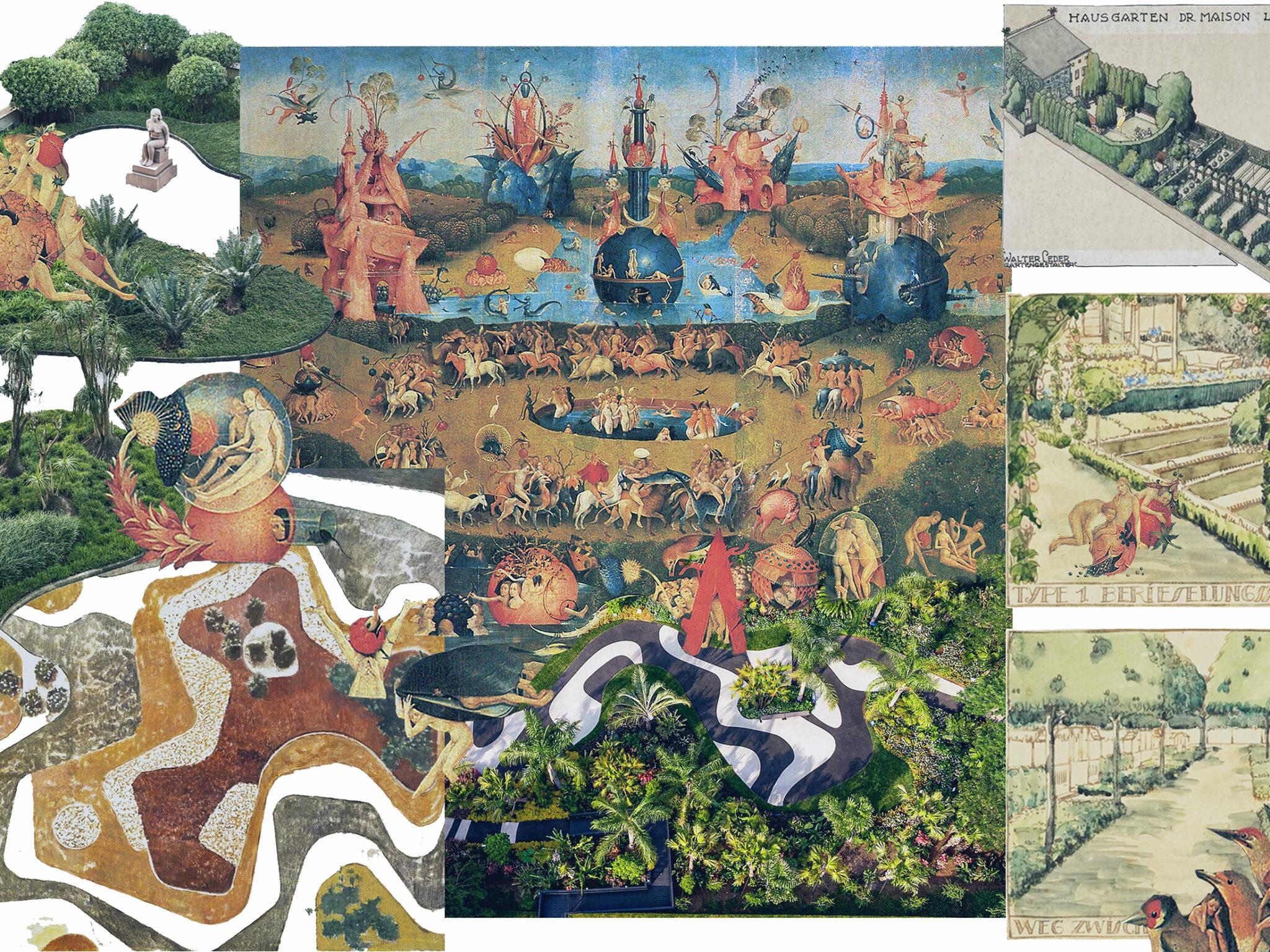 Collage des Siegerentwurfs.