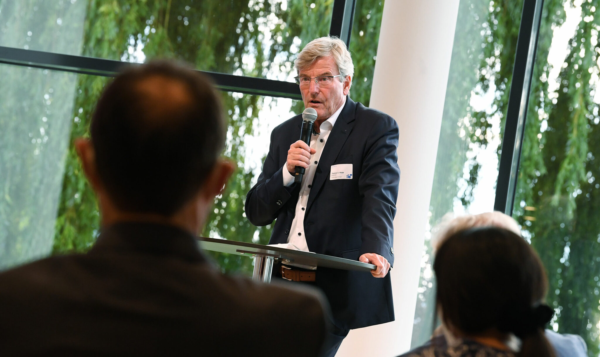Thomas S. Bopp, Vorsitzender Verband Region Stuttgart und Beisitzer im Vorstand der IBA'27 Friends e.V. (Bild: IBA'27 / F. Kraufmann)