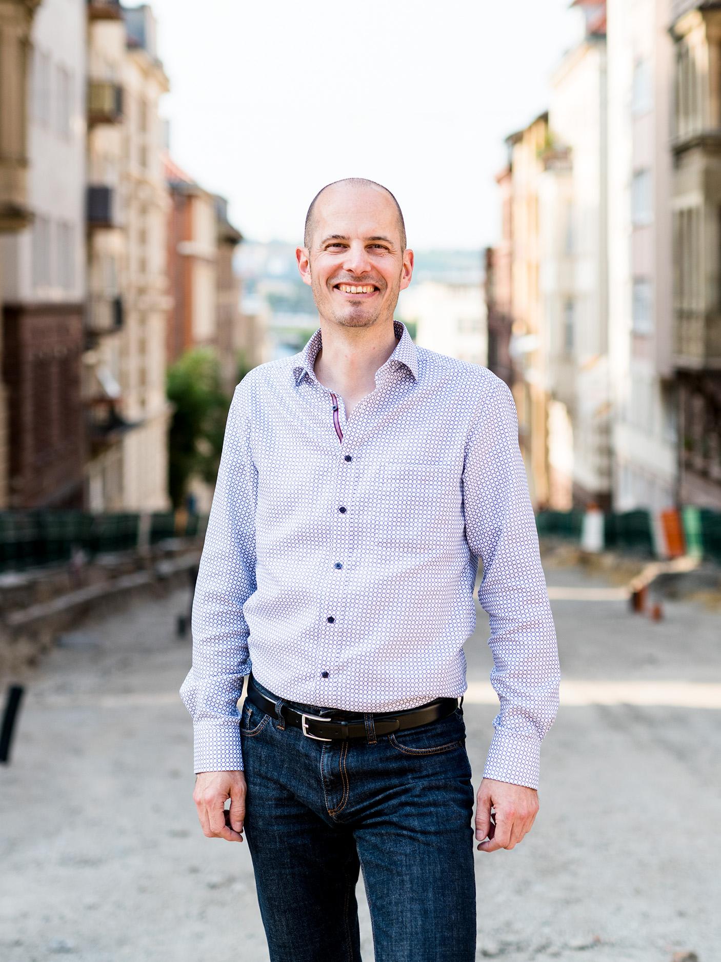 Portrait Florian Rapp