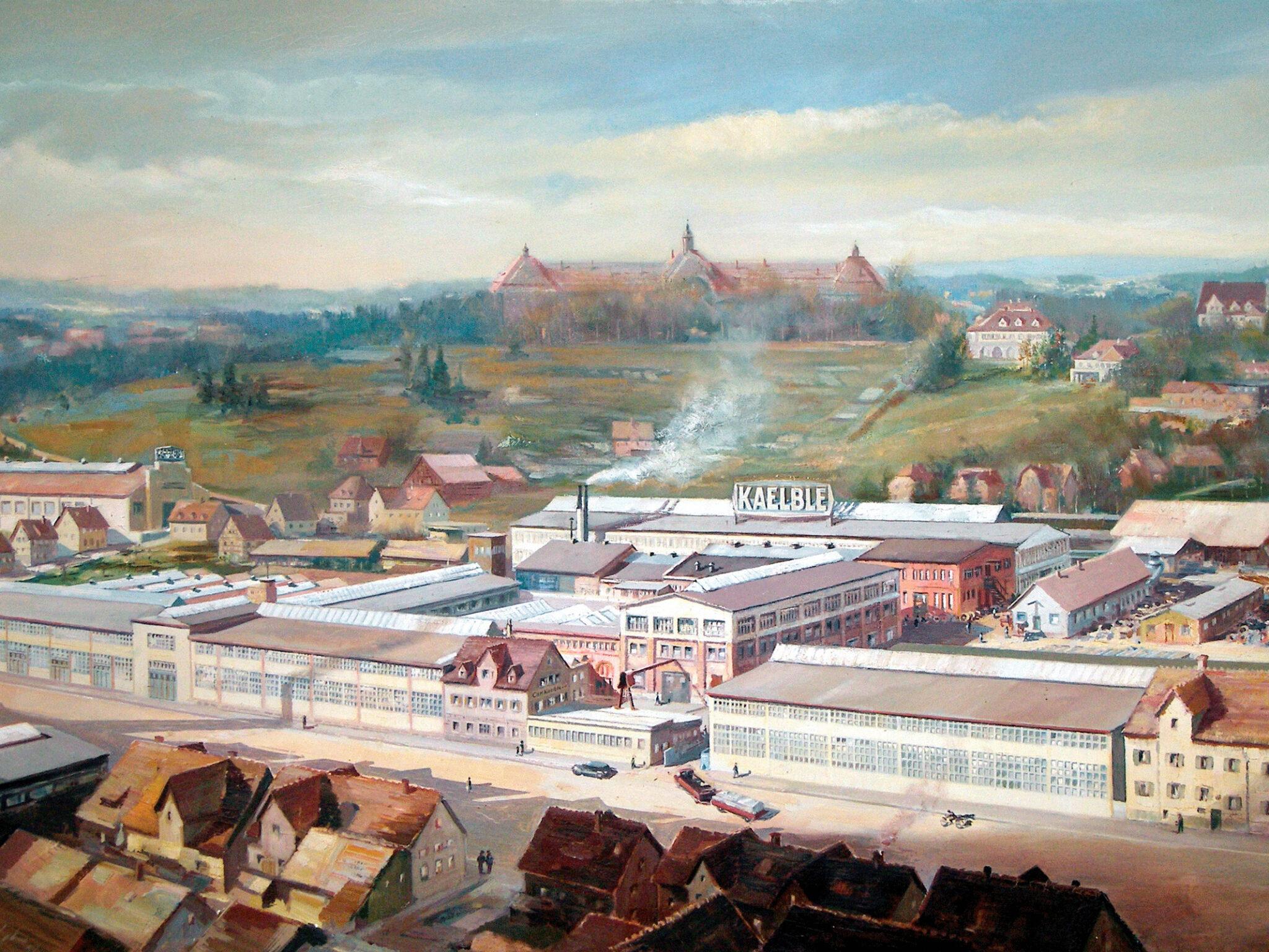 Kaelblewerk in Backnang (Bild: Oskar Kreibich)