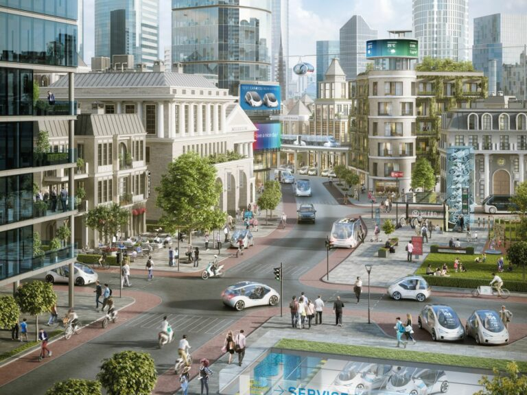 AG Smart Mobility in a Smart City