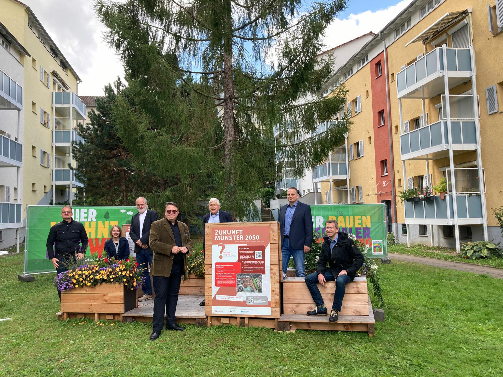 Zukunft Münster 2050: Pressekonferenz zum Start der Bürgerbeteiligung (Bild: BGM / Stadtberatung Dr. Sven Fries)