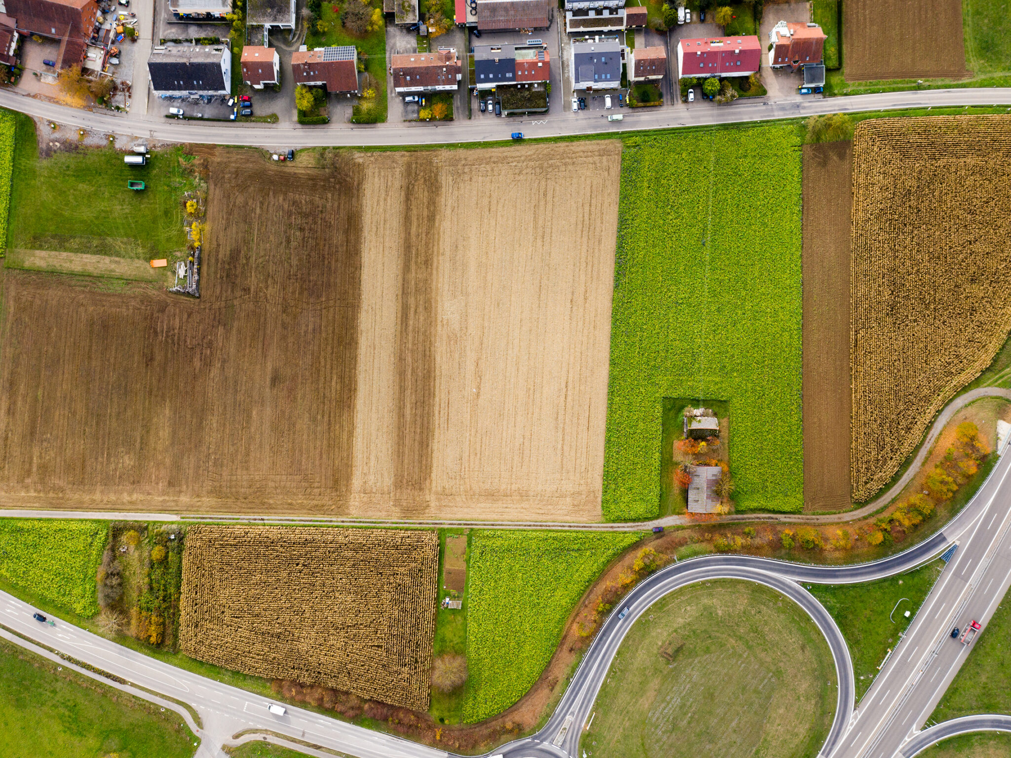 Gelände des IBA'27-Projekts »Produktives Stadtquartier Winnenden« (Bild: Stadt Winnenden / Benjamin Beytekin)