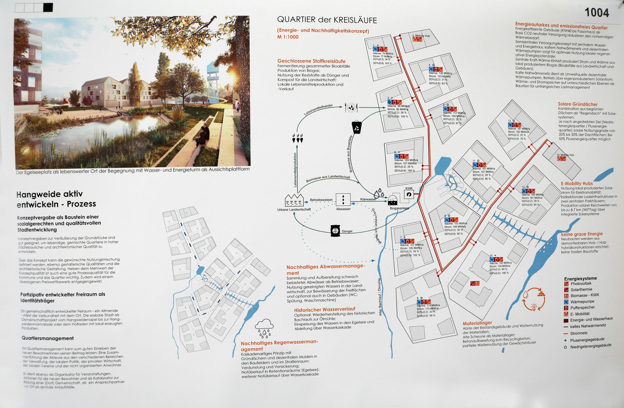 Städtebaulicher Entwurf für die Hangweide / Kernen im Remstal (UTA Architekten und Stadtplaner / Sima | Breer Landschaftsarchitektur; Bild: Alexandra Palmizi)