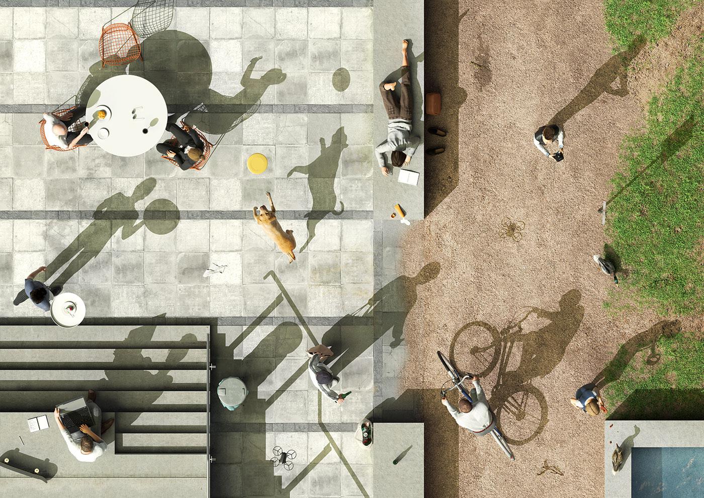 IBA'27: Illustration (IBA'27 / L2M3 / Max Guther)