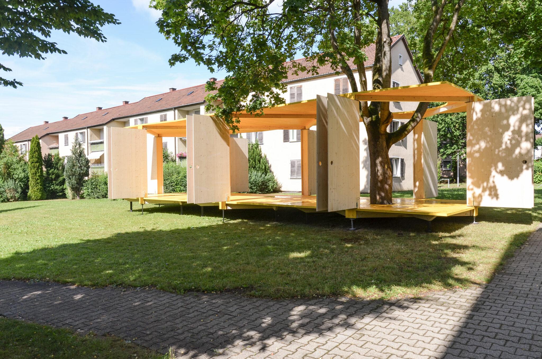 Laborbühne Stuttgart-Rot (Bild: Schürmann + Witry und Mana Michlig)