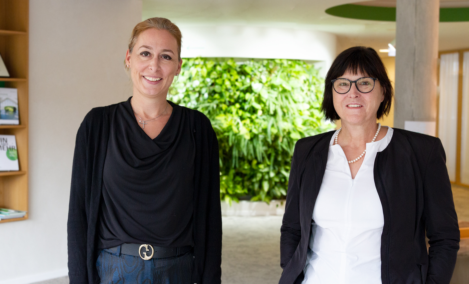 Dr. Christine Lemaitre, Chief Executive Officer of the DGNB and Karin Lang, Chief Financial Officer of IBA'27 GmbH (Credits: DGNB)