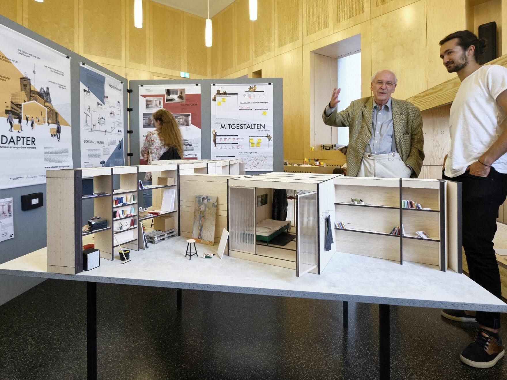 Ausstellung »Wohnen in der Stadt von morgen« (Foto: Joachim E. Röttgers / IBA'27)